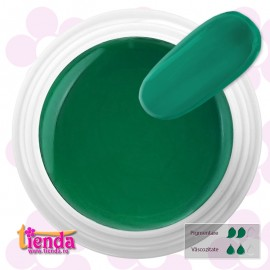 GEL UV COLOR Tienda Euronägel VIVID OPAL GREEN 5ml