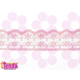 Dantelă roz model 01