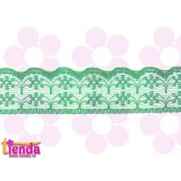 Dantelă verde model 01