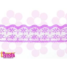 Dantelă lila model 01
