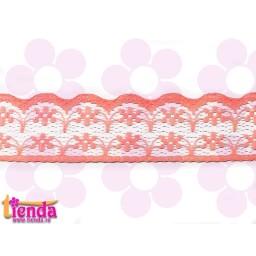 Dantelă roz model 03