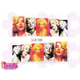 Tatuaj Marilyn Monroe LR700